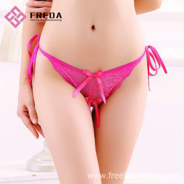 fashion ladies tie thong panties