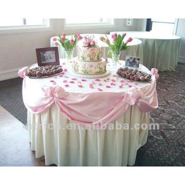 precioso mantel para bodas y banquetes