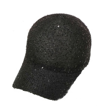Washed Cotton Twill Baseball Cap Hat with Metal Closure
