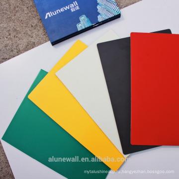 Оптовая глянцевая/металлической поверхности Alunewall ПЭ композитные панели с покрытием алюминиевый 2м Ширина