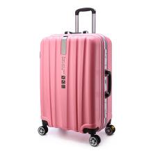 Best Selling Travel Trolley Bagage avec patch logo et bagages en aluminium et ensembles de bagages