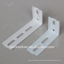 89mm&100mm metal curtain rod wall bracket for vertical blind- vertical blinds component-vertical blind accessories