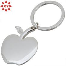Geschenke Apple Form versilbert Schlüsselanhänger