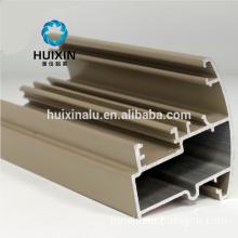 Brown aluminum windows 6063 T5 aluminum extrusion angle