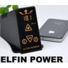 Оптовая продажа татуировки Elfin Power-2, профессиональный цифровой регулируемый источник питания