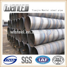high quality spiral steel pipe price per kg