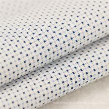 106gsm 50x50 100 tela de popelina de algodón tela de clase empresarial camisa tela de tela barata impresión de tela