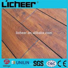 China piso de madeira imitado / fácil clique estratificação piso
