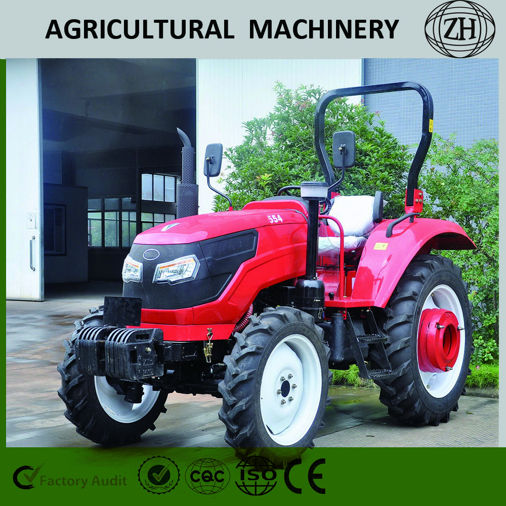 Paddy Field 55HP Big Horsepower Wheeled Farm Tractor
