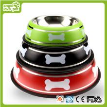 Lovely aço inoxidável Pet Feeder Bowl (HN-PB900)