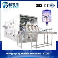 Machine de remplissage d'eau à barres en acier inoxydable pour un pot de 5 gallons
