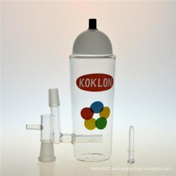 Botella de Krylon DAB Rigs Hookah fumar tubo de agua de vidrio (ES-GB-403)