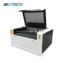 máquina de corte e gravação a laser de casca de coco