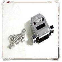 Cubierta metalizada para DB-15 DB15 Pin Connector