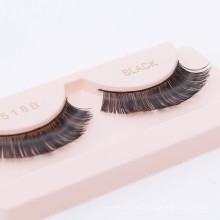 Silk eyelashes clear band false eyelash box false eyelash packaging