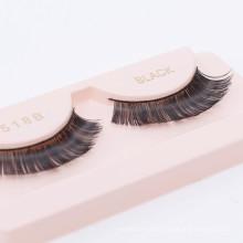 Silk eyelashes clear band false eyelash box false eyelash packaging