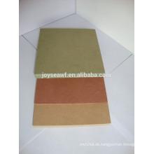Hochwertige 1200 * 2440mm grüne wasserdichte MDF / Feuchtigkeitsbeständige MDF