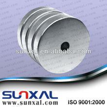 Imán de neodimio cilindro magnetizado axial