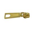 Günstige maßgeschneiderte Jacke Blank Gold Metal Zipper Puller