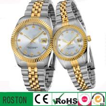 Nova coleção quartzo casal relógios promoção assistir