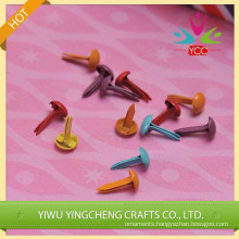 china wholesale colorized scrapbooking metal brads