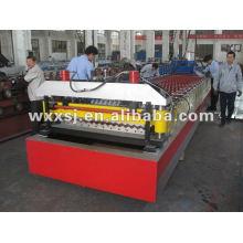 máquina de telhado ondulado