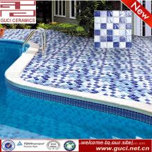 China-Fabrik mischte Swimmingpool-Wand und Boden keramische Mosaikfliesen