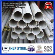 304 tubes en acier inoxydable prix par mètre