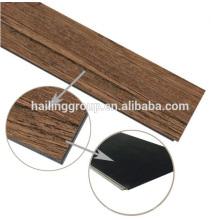 Tablón de pisos de vinilo de sistema de clic ecológico de alta calidad
