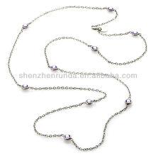 """Vente en gros Crystal Station Cable-Link 36 """"Services Colliers Fabricant de bijoux Fournisseur"""