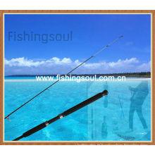 Pointe solide intégrée, cannes à pêche estuaire