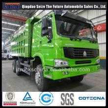 Camion à benne basculante à benne basculante 371HP Sinotruk HOWO 6X4 / 8X4