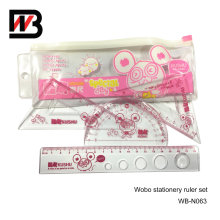 Stationery Plastic Ruler for Office and School Use