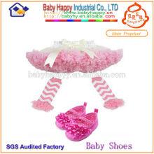 Vestido barato del tutu del bebé de los colores de la venta del precio barato de la fábrica de Guangzhou