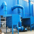 Road sweeper collector venturi dust collector machine