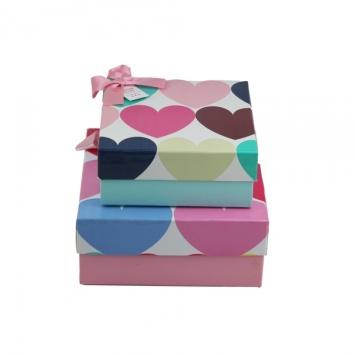 Custom size apparel packaging box
