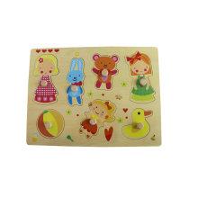 Hot Chirstmas Geschenk aus Holz Mädchen Puzzle spielen? Spielzeug für Kinder und Kinder