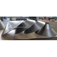 Pièces en aluminium personnalisées de filature pour le matériel