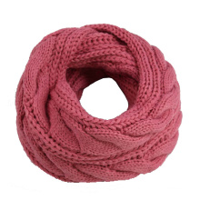 Womens Unisex Cable Twisted Neck Warmer Thick Winter Knitted Scarf Loop Snood (SK138)