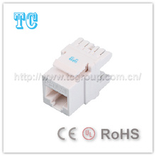 Ce Certificate Unshielded CAT6A Keystone
