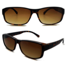 Plastic Men′s Suncover Sunglasses (WSP508314)