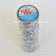 Ruban adhésif isolant PVC Osaka Vini Vim avec adhésif solide pour protection électrique