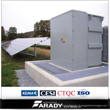 Nouveau transformateur d'énergie 33kv à 11kv pour système solaire triphasé