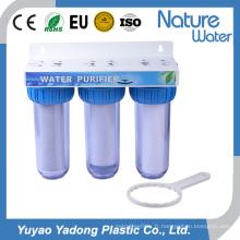 Étape 3 Water Fiter avec le logement clair pour l'usage à la maison (NW-BR10B4)