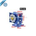 12v / 24v 120W positivo e negativo motor de engrenagem de velocidade de desaceleração
