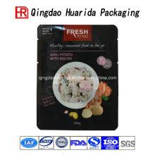 Sacs chauds d'emballage de stratification en plastique de nourriture de vente chaude