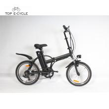 F2 2018 israel 36V 250W motor de la rueda trasera plegable bicicleta de bolsillo eléctrica