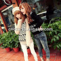 12STC0666 christmas knitted womens mohair sweater