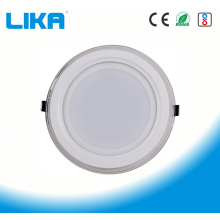 5W Round Glass Led Panel Light