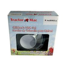 Комплект поставки меламиновой муки 5шт с подарочной коробкой